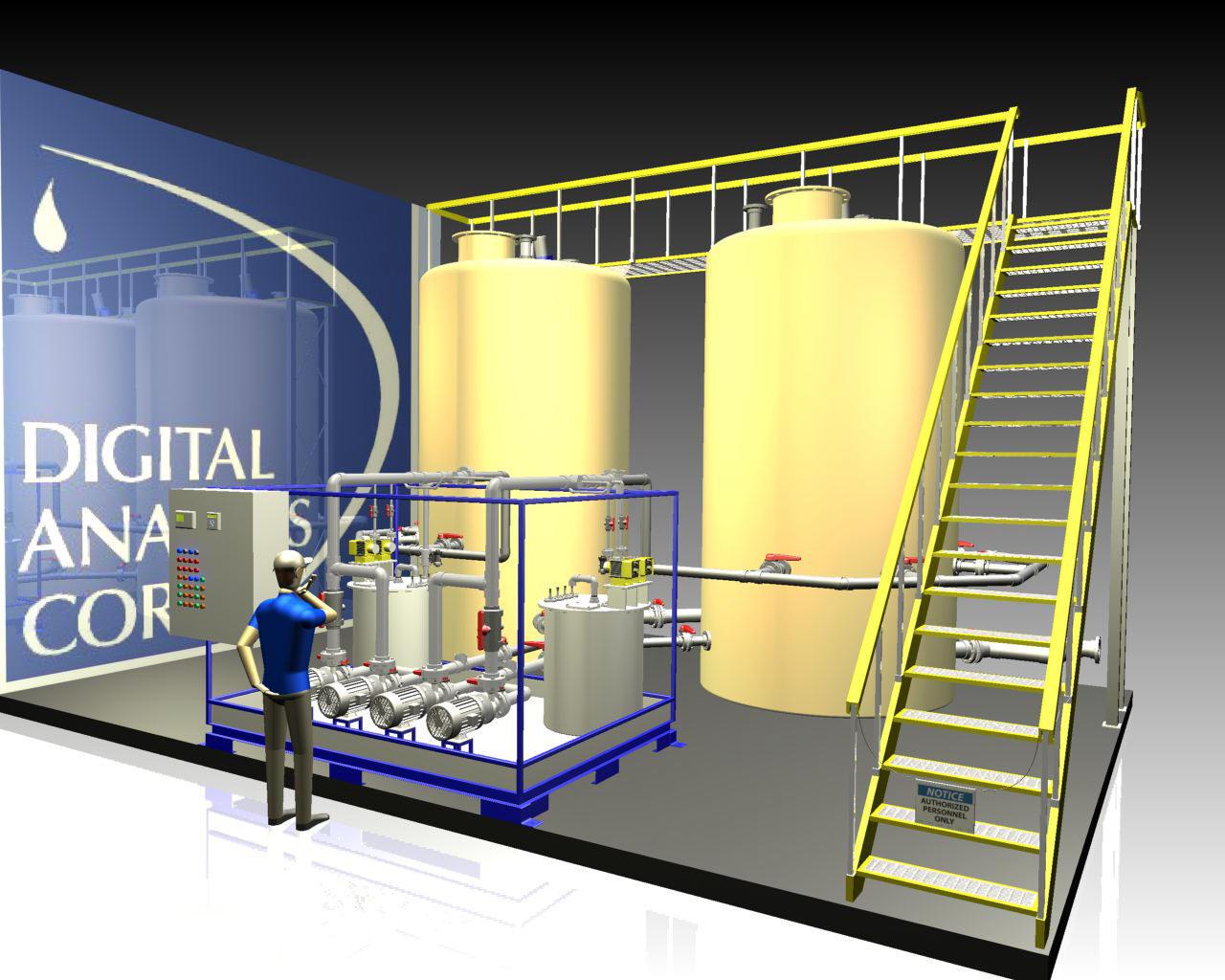 Duplex Batch Acid Waste Neutralization System