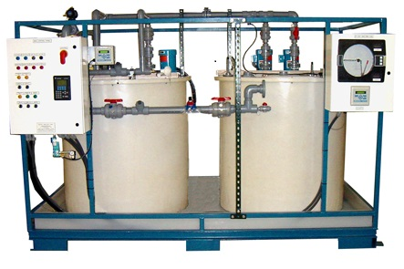 Battery Acid pH Neutralization System